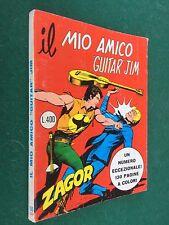 ZAGOR a colori n.100 IL MIO AMICO GUITAR JIM Daim Press (1978) L.400 ORIGINALE