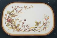 Vintage St Michael Tea Tray Melamine M&S Kitchenware. Blackberry Pattern