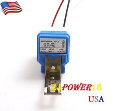 1PCS AS-10 AC110V Auto On Off Light Switch Photo Control Sensor 10A 50-60Hz