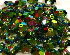 "Swarovski #3700 Margarita/Daisy 8 MM Flower Beads ""Vitrail Medium"" (12 Beads)"