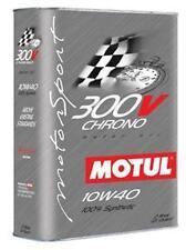 Motul 300V CHRONO 10W40 Synthetic Racing Motor Oil - 2 L Can - 103135 - NEW