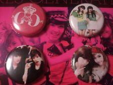 "SNSD Girls Generation 1"" Pin Set (4) Sunyeon Jeti Taeny (free gift)"