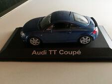 Audi TT Coupe denimblau 1:43