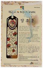 Korean Traditional reader Metal Bookmark - vine