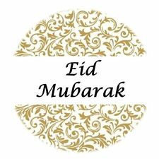 35 Eid Mubarak Stickers Muslim Islam Gold (648) Decorations Sticker Gift