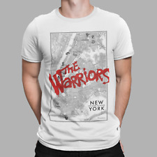 The Warriors T- Shirt Brooklyn New York Cult Movie 70s Gang Tee Gift UK White