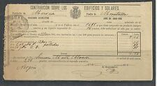 B13F-DOCUMENTO FISCAL  MURCIA CARAVACA IMPUESTOS TASAS.MORATALLA.1899