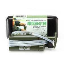 Water Filter System  Abrasive Paper O-ring Survival Hiking Camping Camper Gear