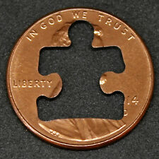 Lucky Penny with puzzle piece out