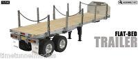 Tamiya 56306 Flatbed Semi Trailer Kit - for use with Tamiya 1:14 RC Truck Kits