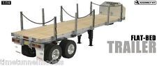 Tamiya 56306 Flatbed Semi Trailer Kit - for use with Tamiya 1:14 RC Truck Kits
