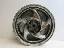 "Sym GTS125 GTS 125 Evo 2009 Rear Wheel 12 x 3.5 12"" Silver                 J31"