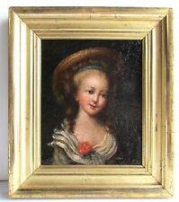 Old Master School 17th c. Painting Portrait of a Young Girl