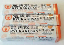 3 Pkg Ryukakusan Herbal Drops, Herbal Supplement, KUMQUAT FLAVOR @11 drops