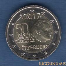 2 Euro Commémo Luxembourg 2017 Service Militaire Volontaire - Luxembourg