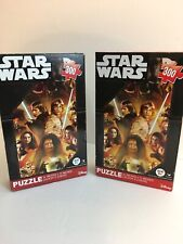 Star Wars PUZZLE 300 PIECES 14x11 Inch NEW FORCE AWAKENS Lot Of 2