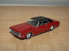 Johnny Lightning 1969 Mercury Cougar Red 1:64