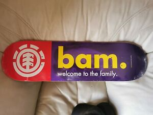Bam margera element Cky2k Welcome To the Family deck new