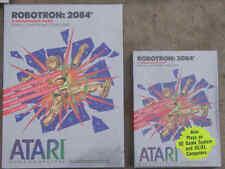 Robotron:2084 Atari 800/XL/XE New Cartridge NIB Small Silver Box