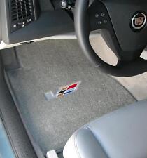 LLOYD Classic Loop™ Gray FRONT FLOOR MATS with V logo 2004-2007 Cadillac CTS-V