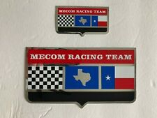 2  MECOM RACING TEAM STICKERS (CORVETTE GRAND SPORT-PENSKE) (INDY 500-HILL)