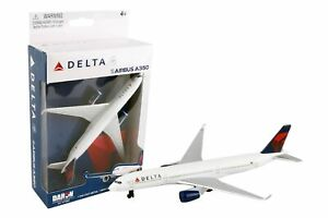 Delta Air Lines Airbus A350 Airliner Toy Airplane Diecast with Plastic Parts