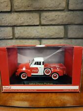 1953 Chevrolet Pickup Truck Coca Cola with Cooler 1:32 Diecast Model - 440664