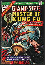 GIANT-SIZE MASTER OF KUNG FU #2, Marvel Comics, 1974, VF CONDITION COPY