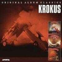"KROKUS ""ORIGINAL ALBUM CLASSICS"" 3 CD NEW"