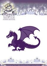 Stanzschablone - Magical Dragon / Drachen  von Yvonne Creations