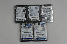 """2.5"""" SATA SATA II 320gb 500GB x2 750GB 1TB Internal Laptop HDD JOB LOT X5"""