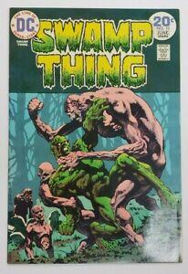 Swamp Thing #10 (Dec 1974 DC) VF/NM 9.0 Last Bernie Wrightson Cover Art!
