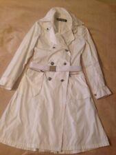 Gianfranco Ferre Trench Coat Vintage Raincoat White Size XS (6-8UK)