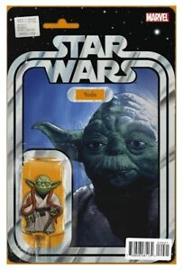 STAR WARS (2015) #20 - Yoda Action Figure Variant - Back Issue
