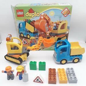10812 LEGO DUPLO Truck & Excavator - Construction Vehicles - Complete in Box
