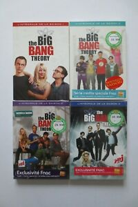 Coffret DVD The Big Bang Theory Saison 1 à 4   Humour Geek