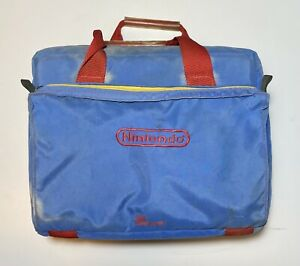 Nintendo NES System Console Game TRAVELING CARRY CASE VINTAGE Z BAG Used