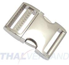 Metall Steckschnalle Steckschließer 40mm Aluminium Alu 4002 Alu-Max f. Gurtband