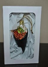 NEW SUR la TABLE INGLE GLASS SUSHI HAND ROLL Blown Ornament GERMANY