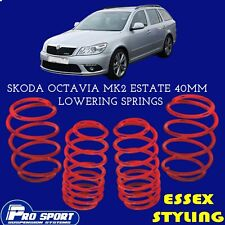 ProSport Lowering Springs for Skoda Octavia Mk2 Estate New In 121020