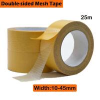 Beidseitiges Klebeband Verlegeband Doppelseitiges Teppichband 10-45mm x 25m Neu