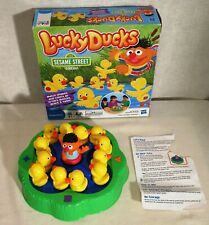 Lucky Ducks Sesame Street Edition Game Match Shapes & Colors
