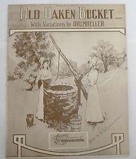"Sheet Music "" Old Oaken Bucket "" Copyright 1924"