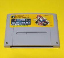 SUPER MARIO KART Nintendo Super Famicom SNES SFC Japan Game FREE Shipping USED