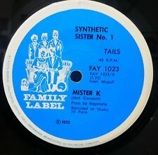 MISTER K 45 Synthetic Sister No 1  FUNK MOOG SYNTHESIZER Krautrock 7