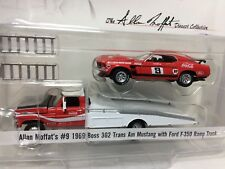 Allan Moffat Racing 69 Boss Ford Mustang & F-350 Ramp Truck Set *1/64* Coca Cola
