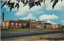 1960's postcard - James Wood High School, Winchester, Virginia.