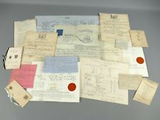 More details for interesting victorian collection of certificates/documents scottish interest |92