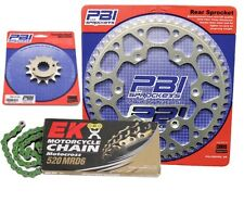 PBI MRD Green 13-46 Chain/Sprocket Kit for Honda CR500R 1992-2001