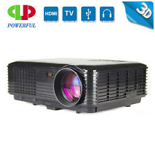 Full HD 3D Smart Multimedia 3500lumens LED Projector Home Theater TV/HDMI 1080P